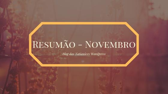 Resumão - Novembro