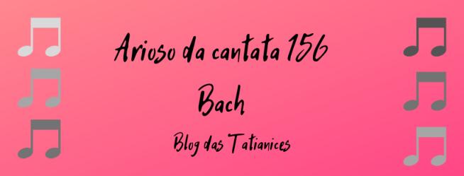 Arioso da cantata 156 Bach