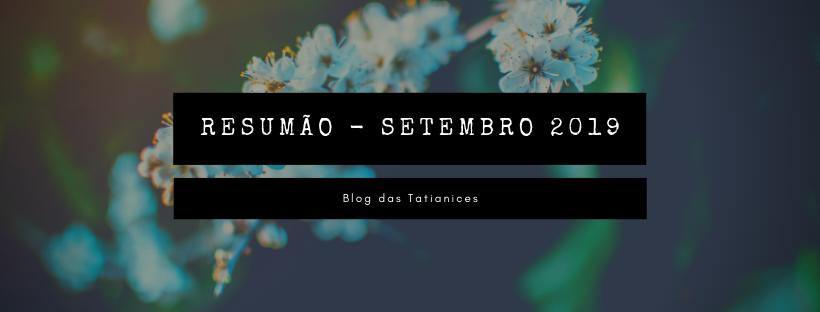 resumão - setembro 2019