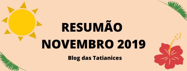 RESUMÃO — NOVEMBRO 2019