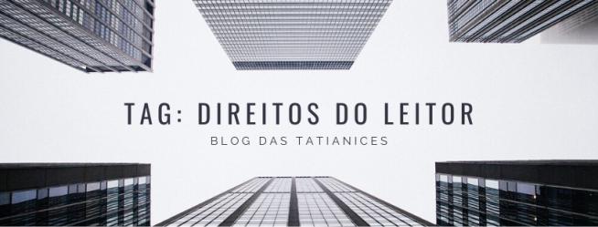 TAG_ DIREITOS DO LEITOR